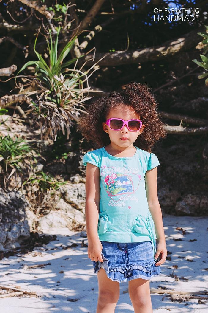 Ie Island - Jasmine on the beach