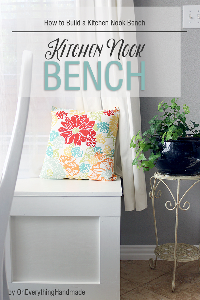 Kitchen Nook Bench