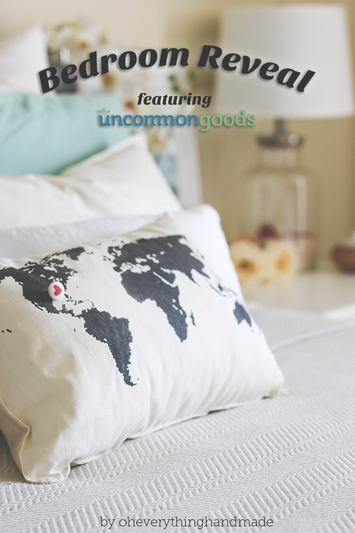 Romantic Bedroom Reveal - featuring UncommonGoods