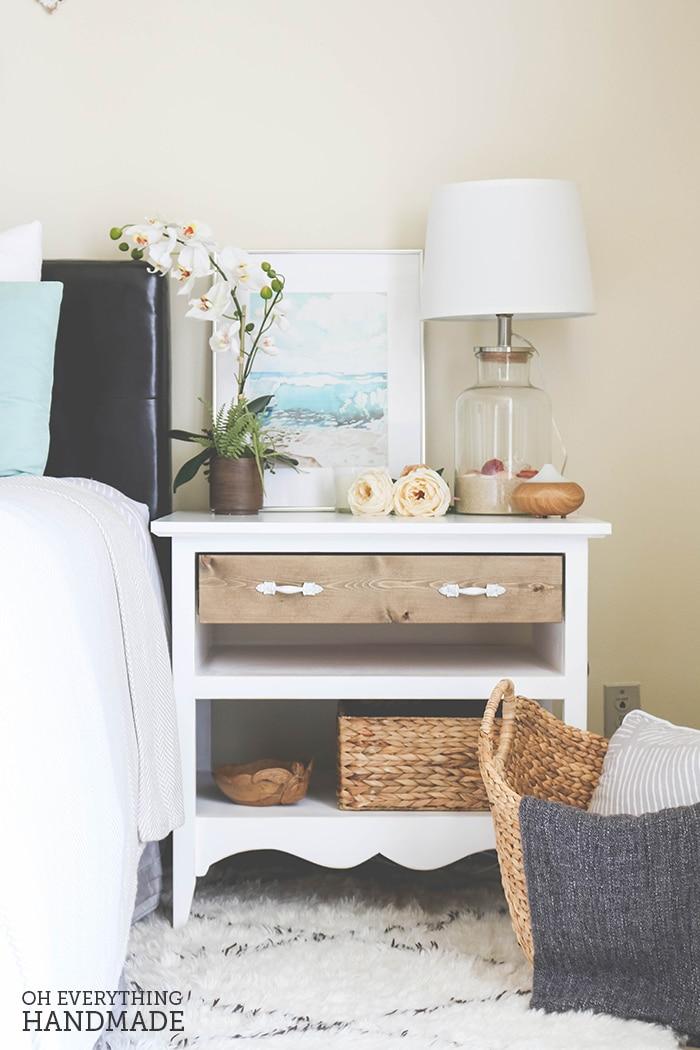 Romantic Bedroom Reveal - featuring UncommonGoods & OhEverythingHandmade