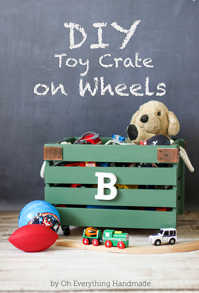 Toy Crate on Wheels - Featured