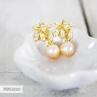 Orchid Delight Earring Bridal earring