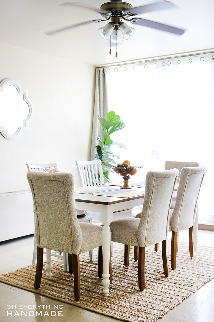 Okinawa Home Tour - Dining area