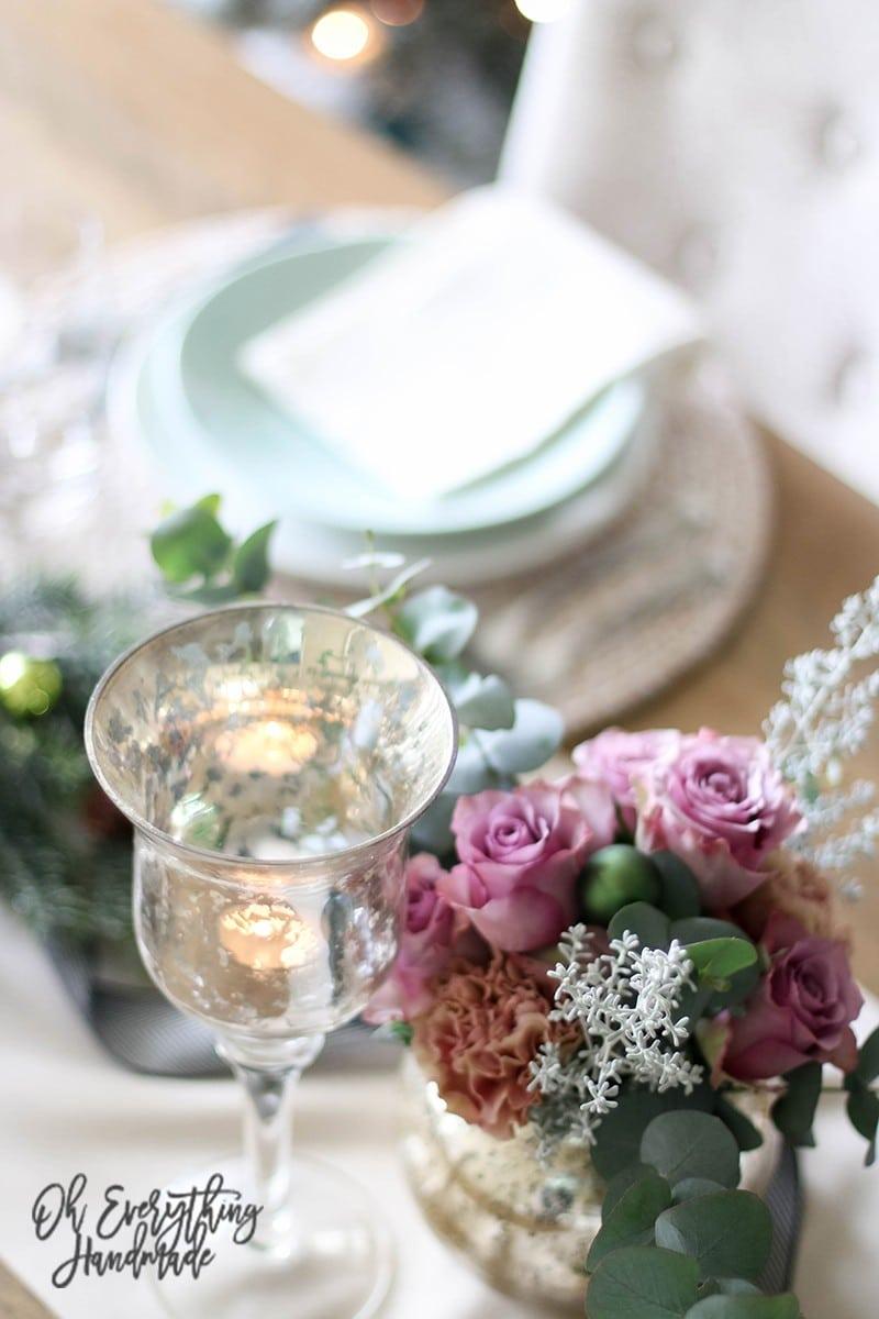 Christmas Table Blog Hop 2015 - oheverythinghandmade Plate Setting4