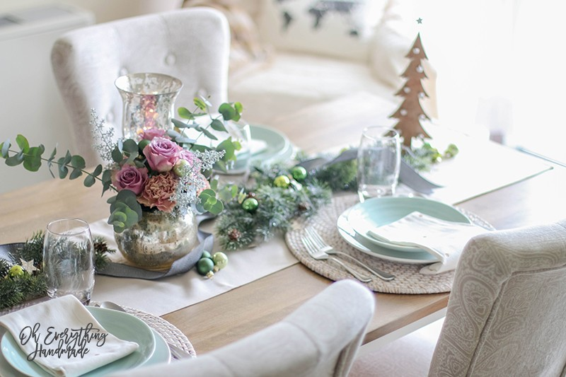 Christmas Table Blog Hop 2015 - oheverythinghandmade Plate Setting5