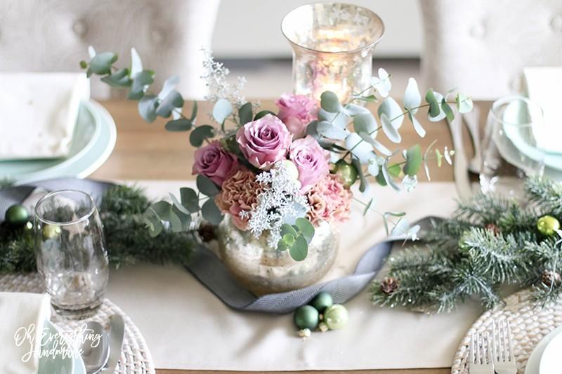 Christmas Table Blog Hop 2015 - oheverythinghandmade Plate Setting6