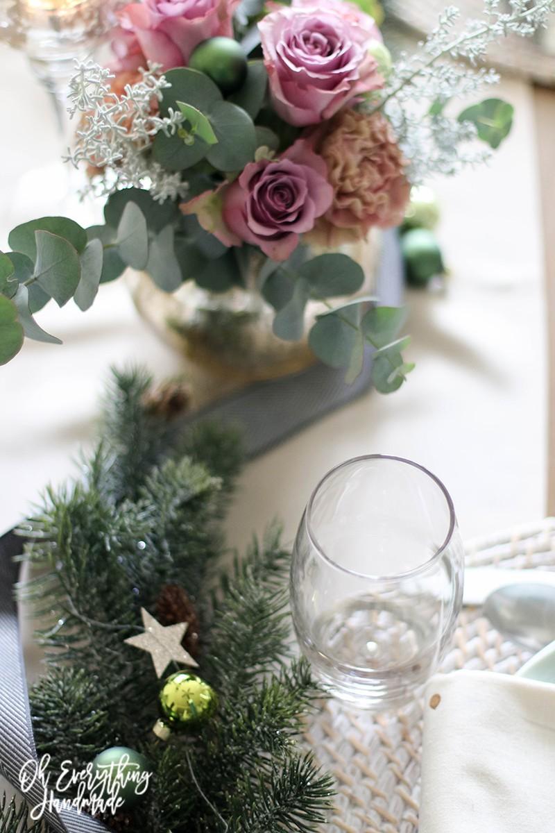 Christmas Table Blog Hop 2015 - oheverythinghandmade - Table top1