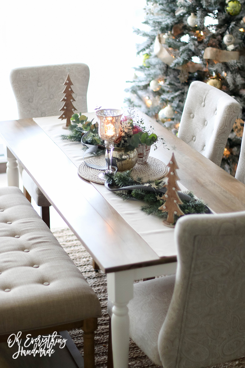 Christmas Table Blog Hop 2015 - oheverythinghandmade - Table top3