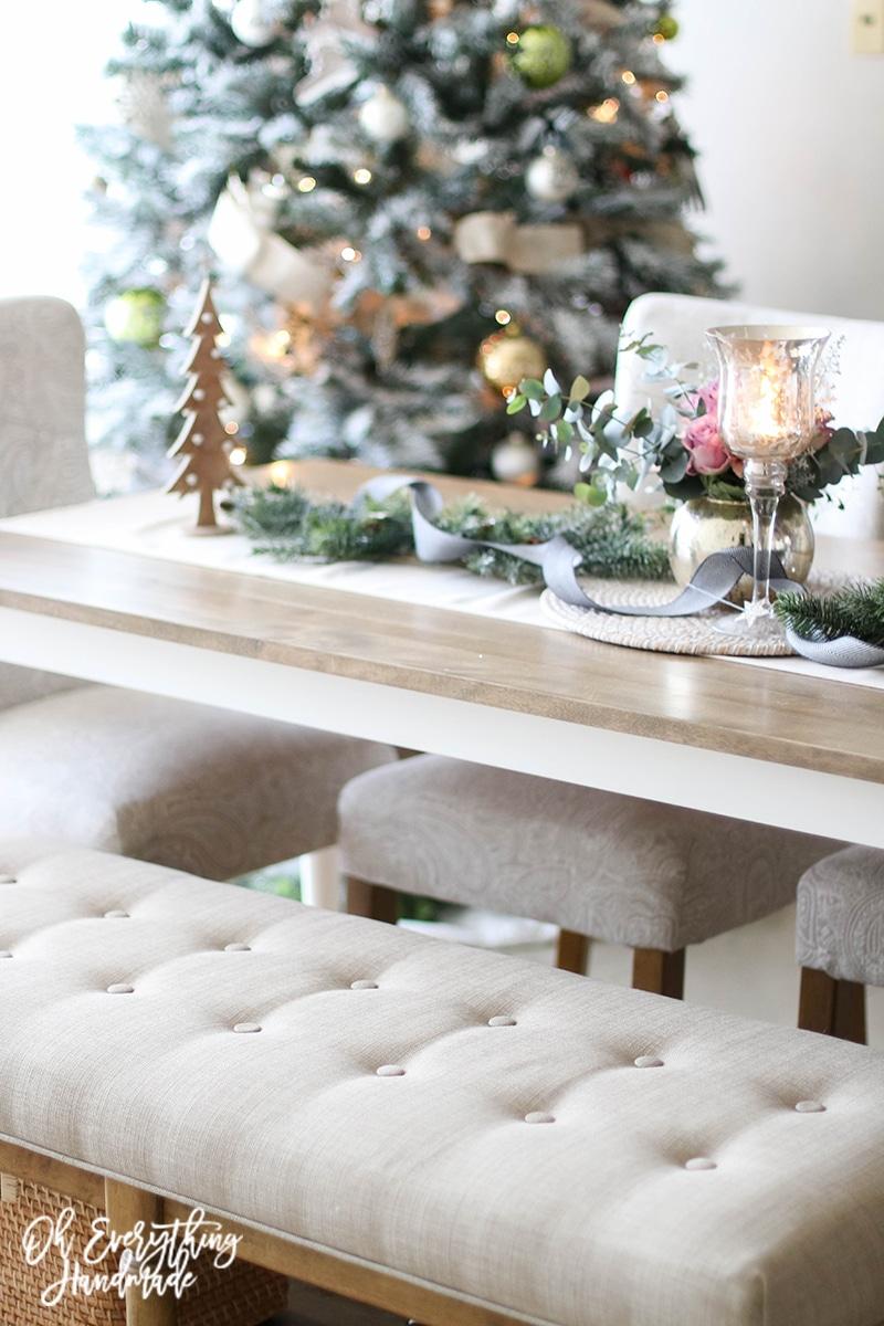 Christmas Table Blog Hop 2015 - oheverythinghandmade side view3