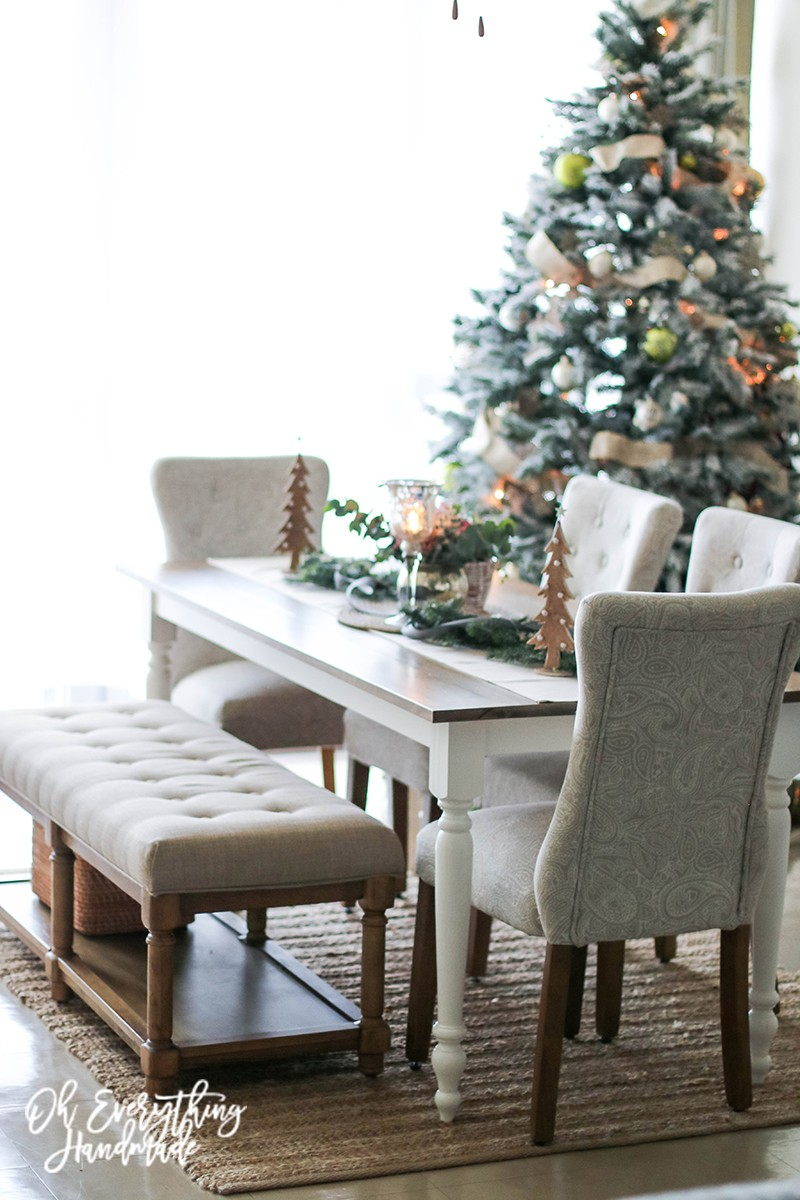 Christmas Table Blog Hop 2015 - oheverythinghandmade side view5