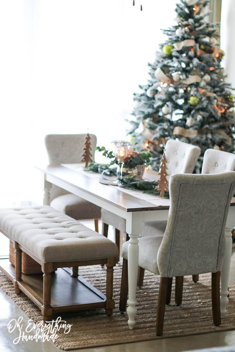 Christmas Table Blog Hop 2015 - oheverythinghandmade side view5