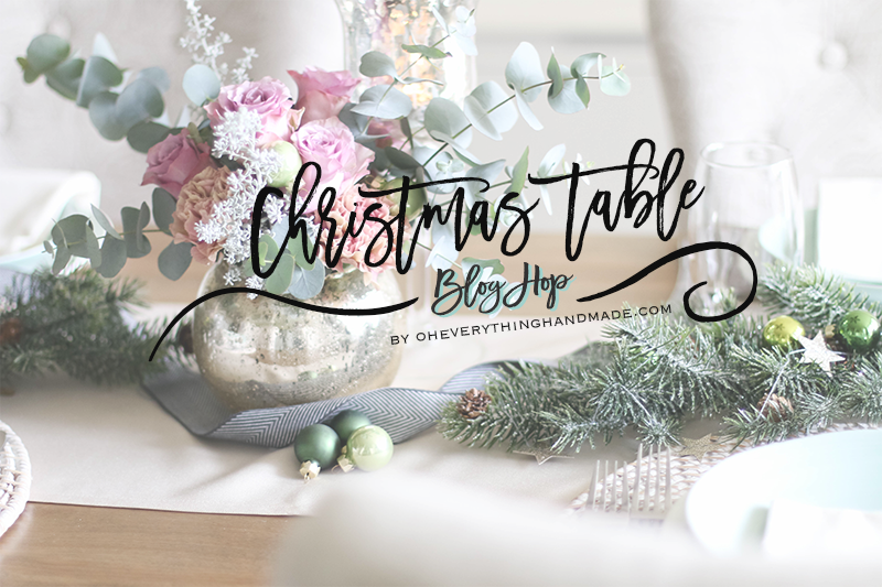 Christmas Table Setting Blog Hop 2015 - oheverythinghandmade