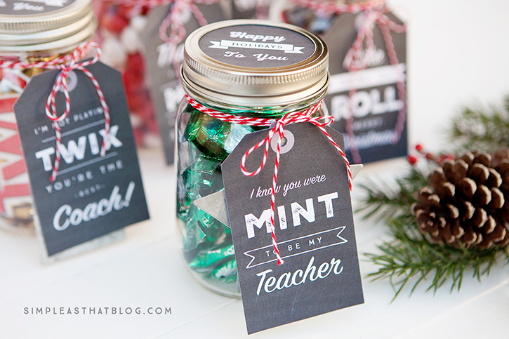 Mason Jar Tail Gifts