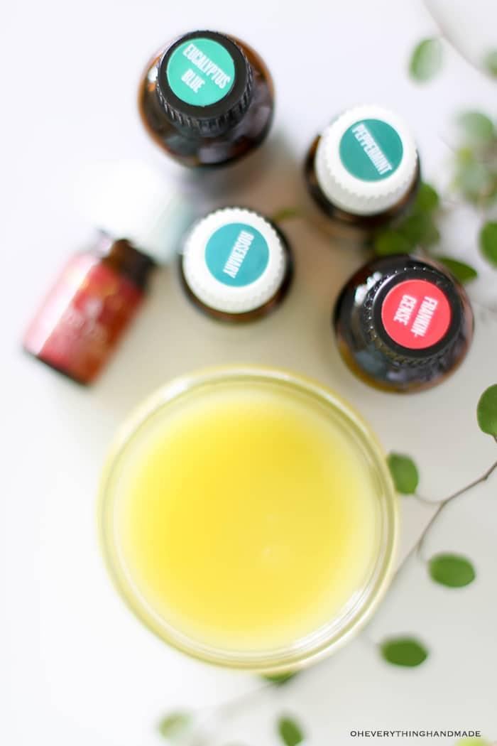 Essential Oil All Purpose Salve -Cold & Sore throat cream