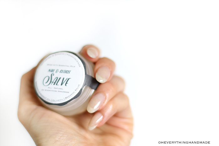 Essential Oil All Purpose Salve - Nail and cuticle salve