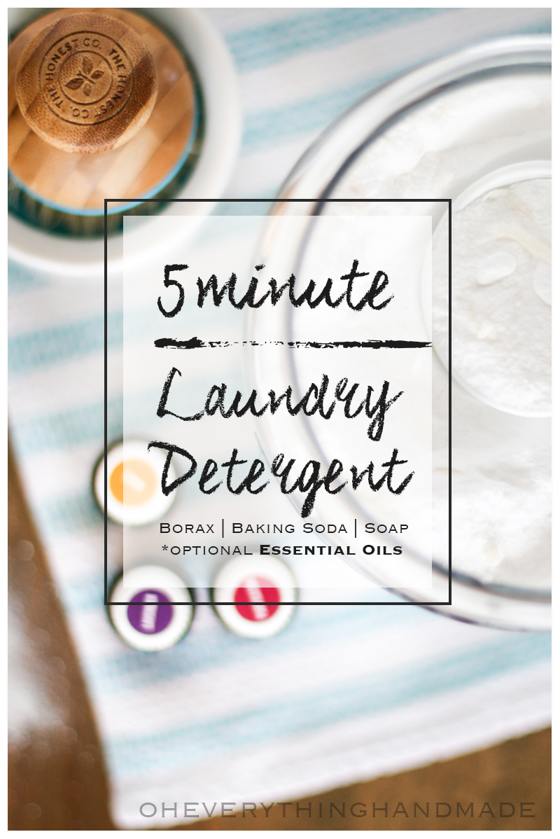 Laundry Detergent - with Essential Oils5