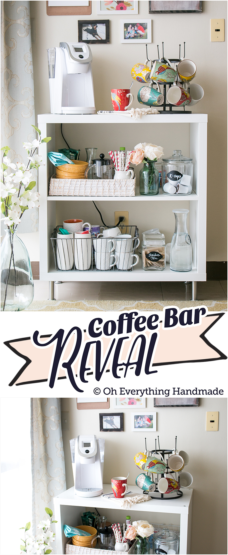 Coffee Bar via OhEverythingHandmade - Pinterest