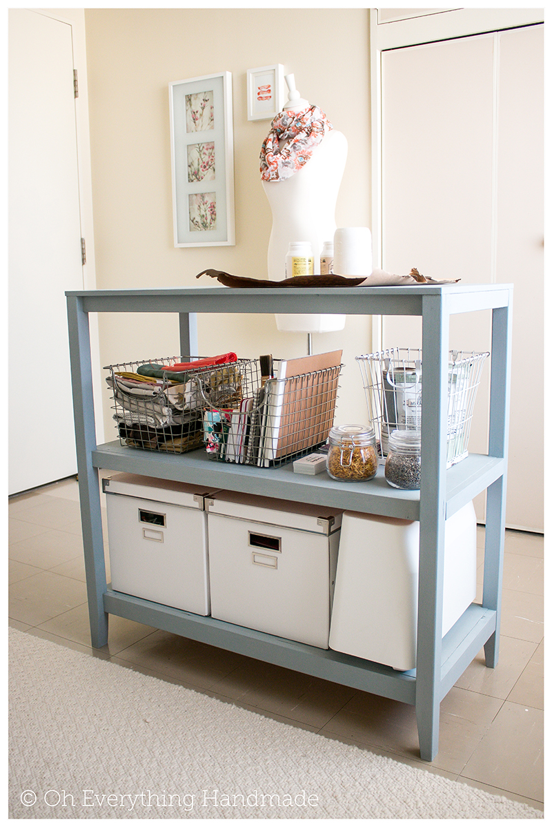 Craft Table Project incl Building Plans via OhEverythingHandmade