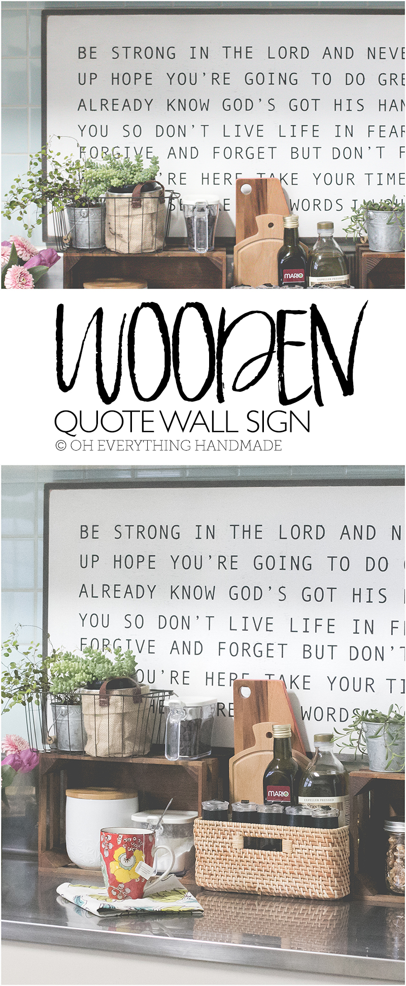 wood wall art quote pinterest