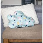 SEWING PROJECT // Fabric Cloud Pillow