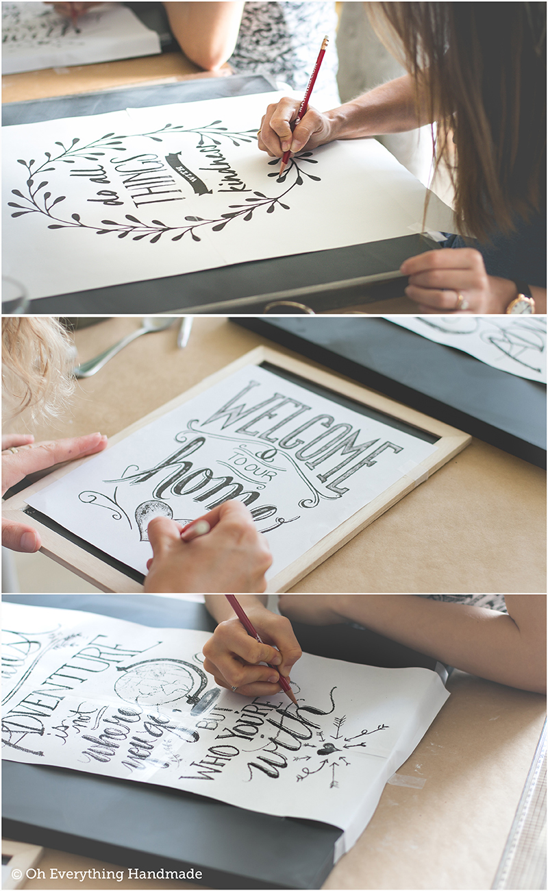 How to make a Chalkboard Design1 - Class1