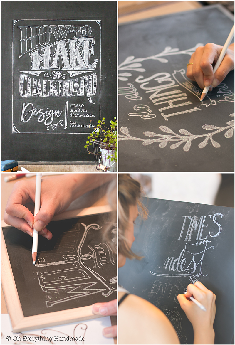 How to make a Chalkboard Design1 - Class2