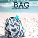 Beach Tote Bag – Sewing Project