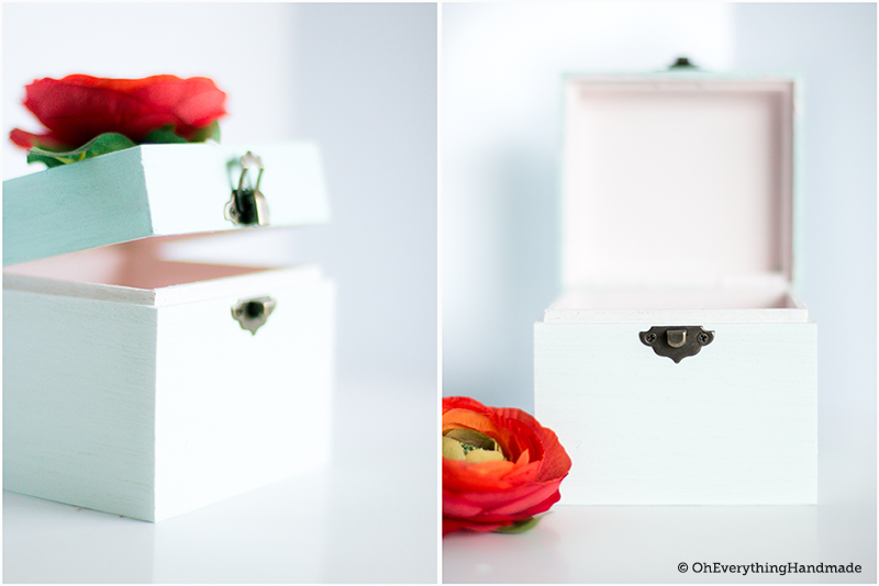 DIY Allowance Storage box