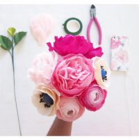 Paper floral Kit