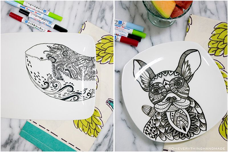 Plate coloring by OEH-Pinterest1
