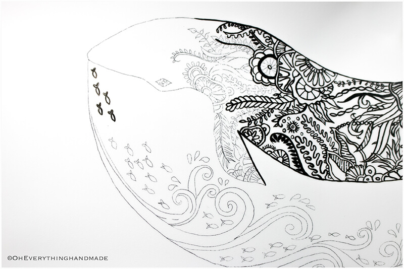 Plate coloring by OEH-Tracing with Paint marker