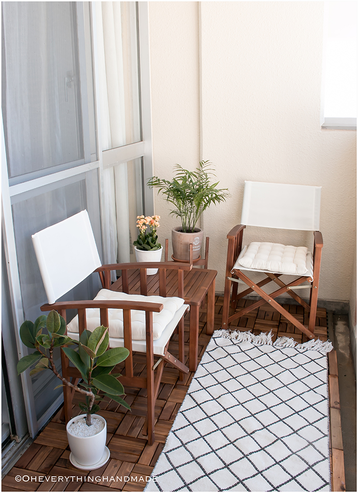 Small balcony makeover - via OEH1