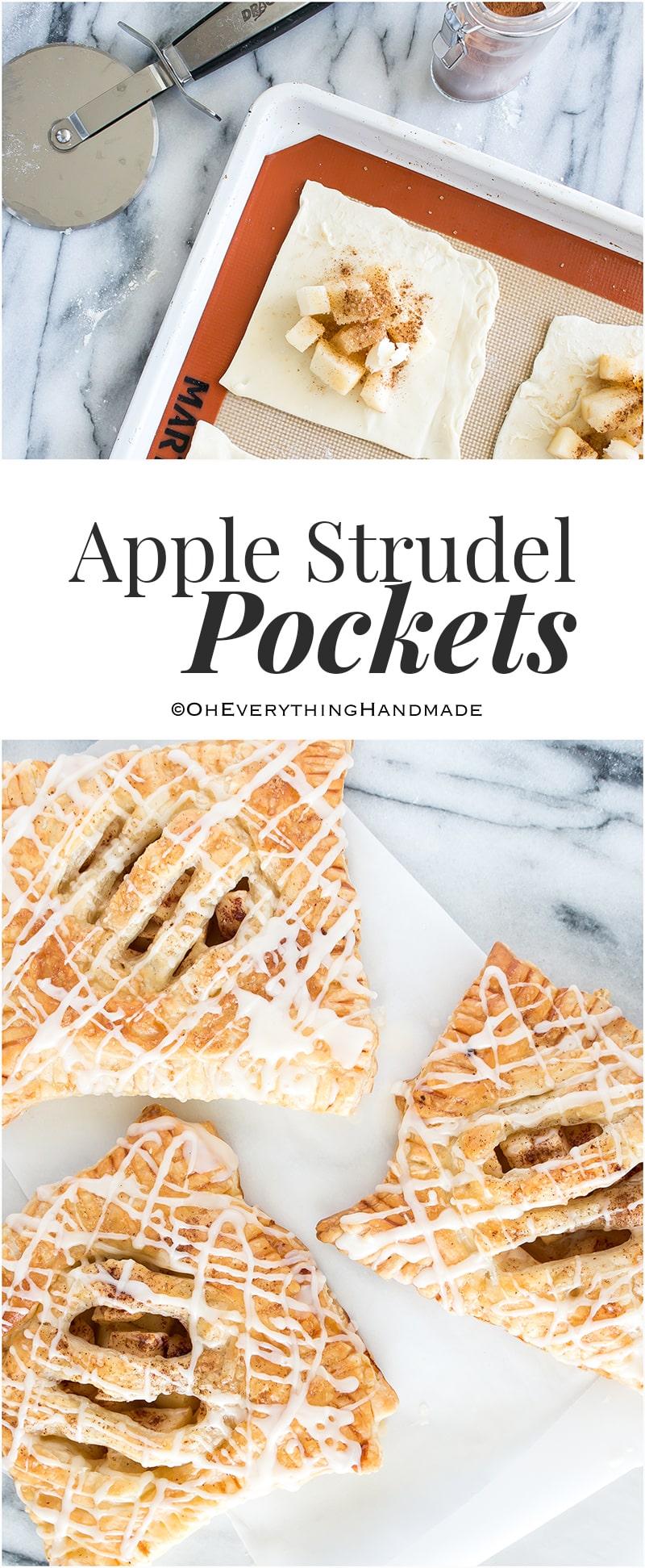 Apple Strudel Pockets - PinIt - Recipe