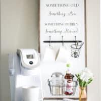 Coffee Bar Sign via OhEverythingHandmade (6 of 20)