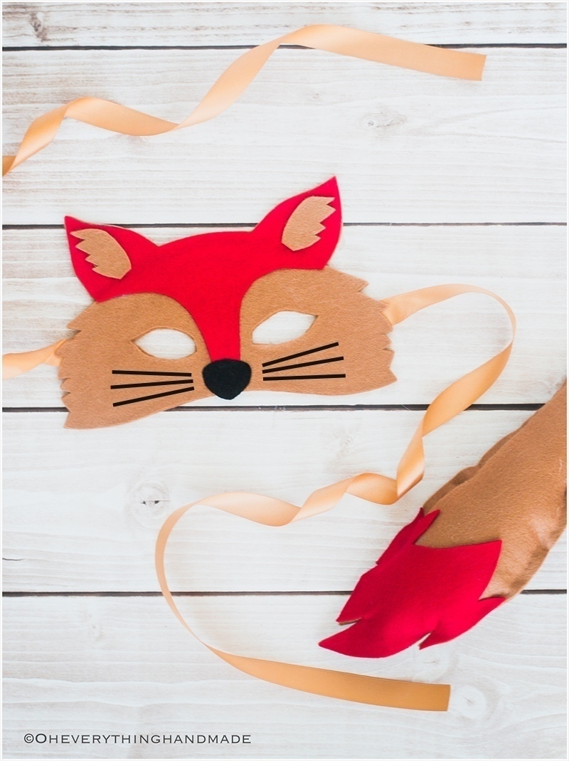 no-sew-animal-fox-felt-mask-tutorial-1featured