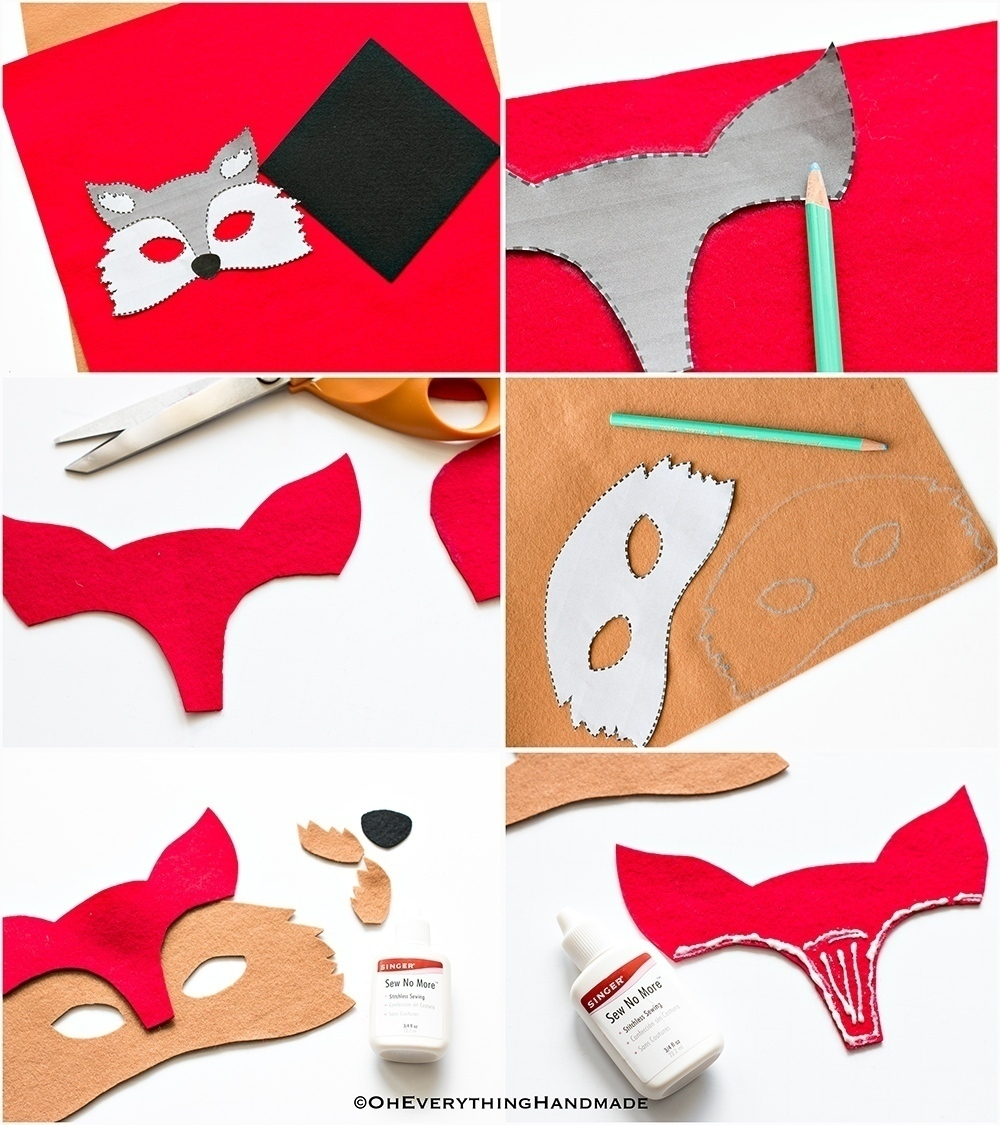 no-sew-animal-fox-felt-mask-tutorial