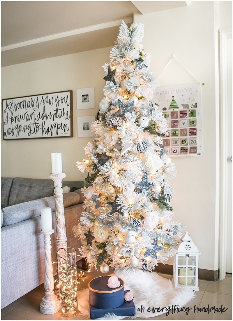christmas-home-tour-2016-oh-everything-handmade-christmas-tree1