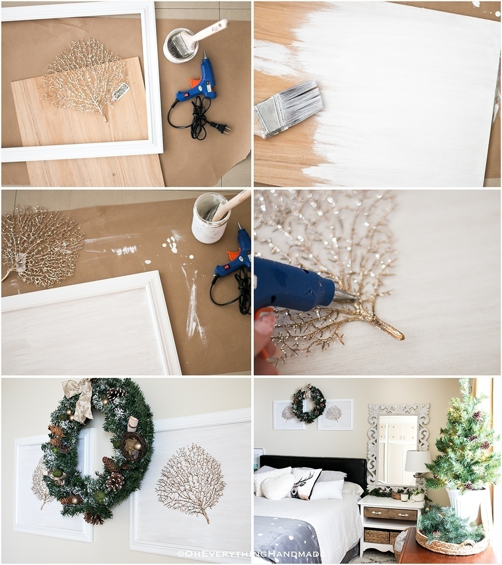 Christmas Bedroom Home tour - OEH - Tutorial