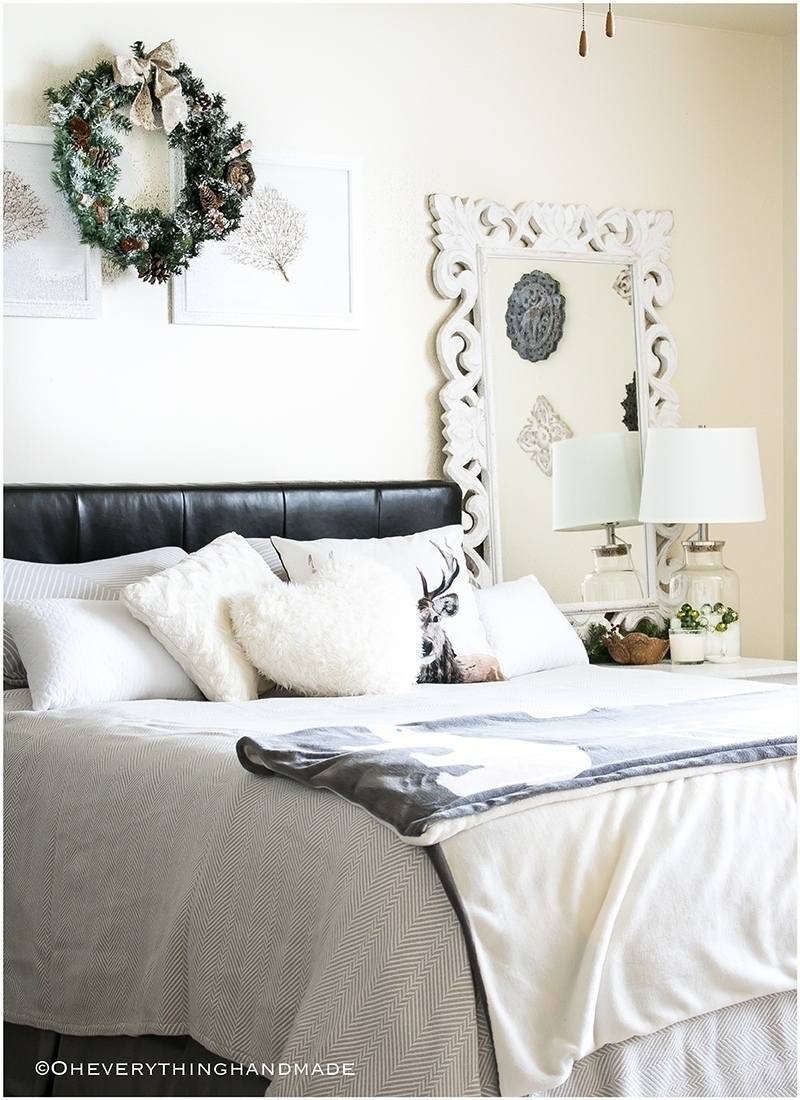 Christmas Bedroom Home tour - OEH4