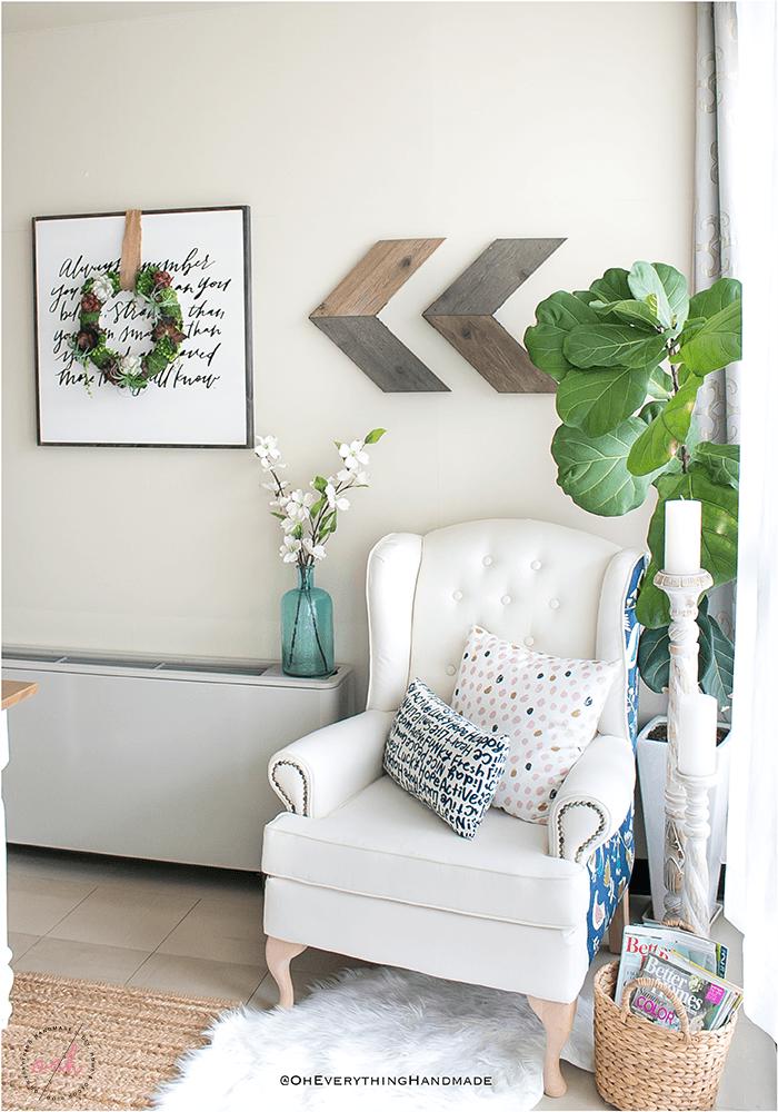 Succulent Wreath DIY - Indoor succulent wreath decor