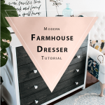 Modern Farmhouse Style Dresser-Featured