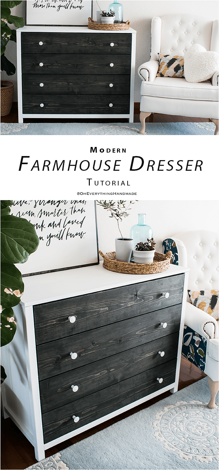 Modern Farmhouse Style Dresser PIN IT BUILDING PLANS
